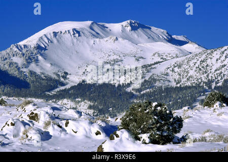 USA, California, Sierra Nevada Range. Mammoth Mountain landscape. - Stock Image