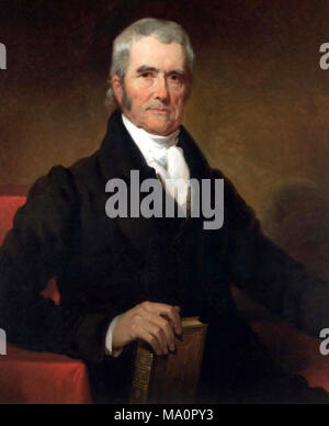 Chief Justice John Marshall (1801-1835) - Stock Image