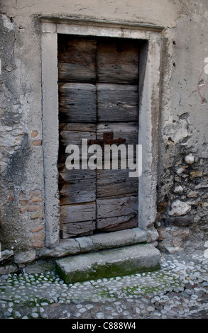 Wooden Door - Stock Image