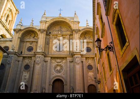 Granada Cathedral, Granada, Andulucia, Spain - Stock Image