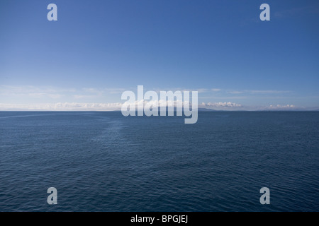 Isle of Skye from the Minch, Scotland - Stock Image