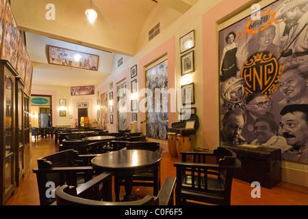 Hotel National Vedado, famous Bar , illustrious guests Portraits, Cuba - Stock Image