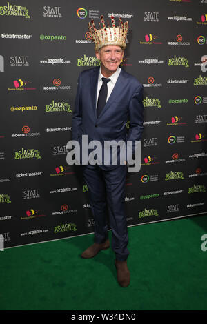 Sydney, Australia. 12th July 2019. Jack and the Beanstalk Giant 3D musical spectacular red carpet at the State Theatre. Pictured: Peter Rowsthorn. Credit: Richard Milnes/Alamy Live News - Stock Image