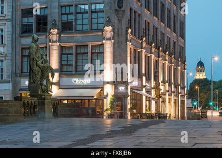 Hochzeitshaus, wedding house,  Juwel-Palais,  Gertraudendenkmal, Spittelmarkt, Berlin - Stock Image