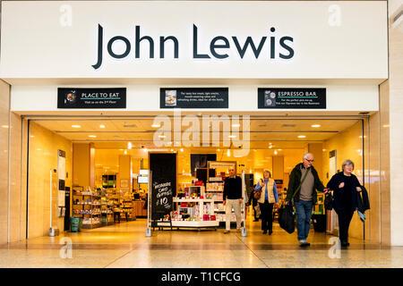 John Lewis store, UK. - Stock Image