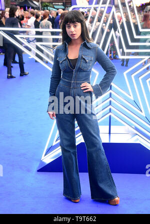Foxes attending the Rocketman UK Premiere, at the Odeon Luxe, Leicester Square, London. - Stock Image