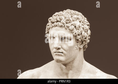 Young Hercules. - Stock Image