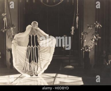 1920s fashion show - Stock Image
