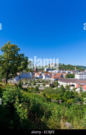 CITYSCAPE, HEIDENHEIM AN DER BRENZ, SWABIAN ALB, BADEN-WURTTERMBERG, GERMANY - Stock Image