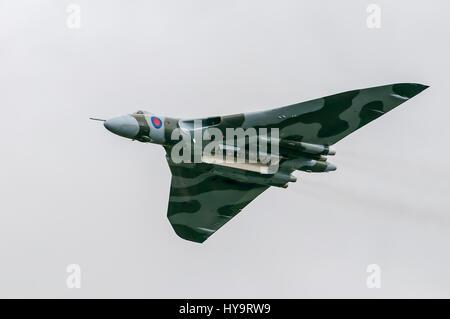 AVRO Vulcan XH355 - Vulcan to the skies - Stock Image