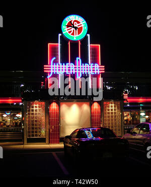 Silver Diner Greenbelt, Md - Stock Image