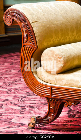 William Trotter sofa designed as part of a suite of furniture for Paxton House during the late 18th Century - Stock Image