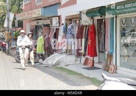 shops in fort kochi - Stock Image