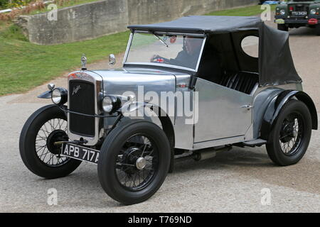 Austin Seven Special (1937), British Marques Day, 28 April 2019, Brooklands Museum, Weybridge, Surrey, England, Great Britain, UK, Europe - Stock Image