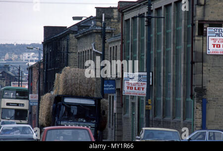 Closed down Factories in Sheffield in the early 1980's - Stock Image
