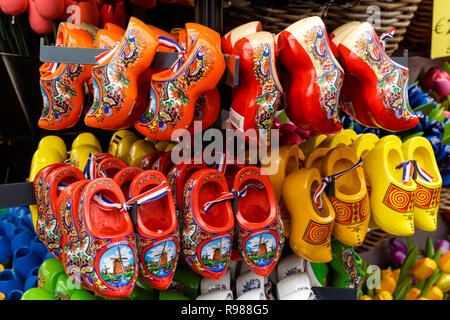 Shop with souvenirs in Amsterdam, Netherlands - Stock Image