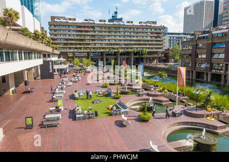 The Barbican Centre,London,England,UK - Stock Image