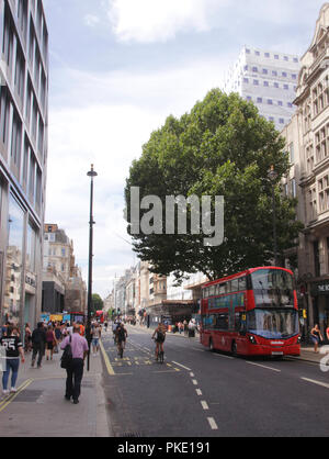 Oxford Street London August 2018 - Stock Image