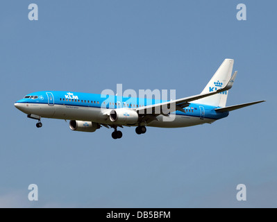 PH-BXE KLM Royal Dutch Airlines Boeing 737-8K2(WL) - Stock Image
