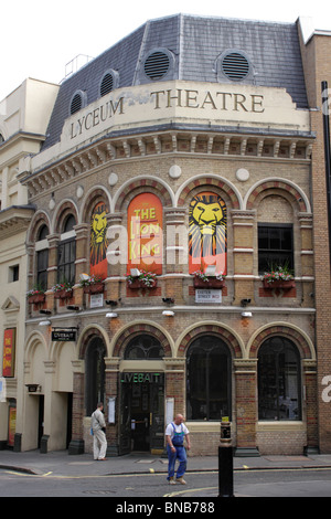 The Lion King showing at the Lyceum Theatre Covent Garden London July 2010 - Stock Image