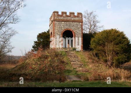 Captain James Cook Memorial, The Vache, Chalfont St Giles, Buckinghamshire. - Stock Image