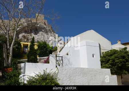 Church of Agios Georgios of the Rock at Anaftioftika - Stock Image