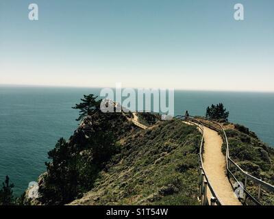 Muir Beach Overlook - Stock Image