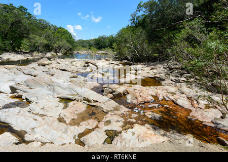 Scenic view of the Annan River near Cooktown, Far North Queensland, QLD, FNQ, Australia - Stock Image