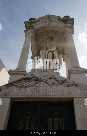 Tomb of Familia De Francisco Gomez - Stock Image
