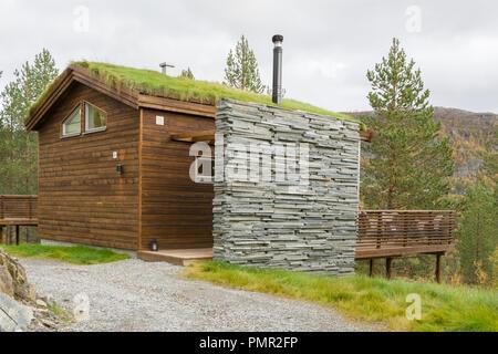 bjørnefjell mountain lodge, sarves, alta, finnmark - Stock Image