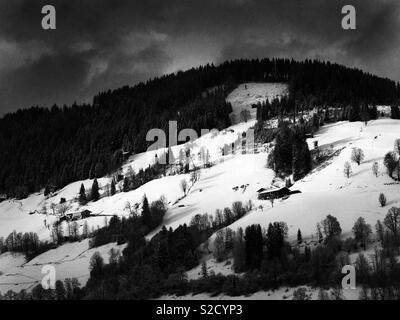 Niederau Austria - Stock Image