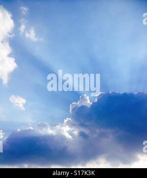 Dreamy sky. - Stock Image
