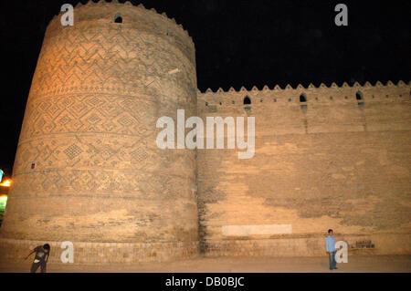 The picture shows the citadel of Karim Khan in Shiraz, Iran, 30 April 2007. Photo: Tilman Billing - Stock Image
