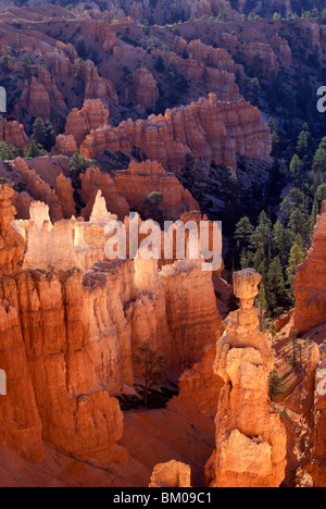 Sunrise at Bryce Canyon National Park - Stock Image