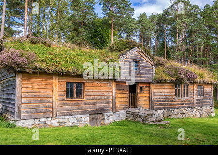 Building Called Slettereitstova, Sunnmore Museum, Alesund, Norway - Stock Image
