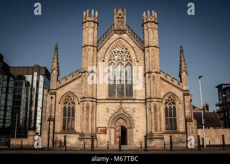St Andrews Catholic Cathedral, Clyde Street, Glasgow, Scotland. - Stock Image