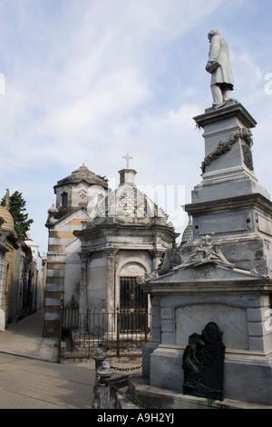 Tombs in Recoleta Cemetary - Stock Image