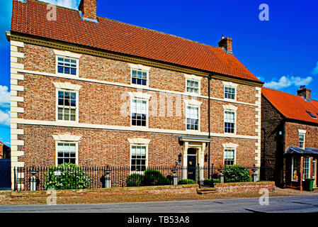 Period House, Helperby, North Yorkshire, England - Stock Image