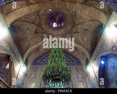 Seyyed mosque interior, Isfahan, Iran - Stock Image