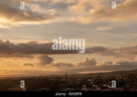 On top of the world - Edinburgh, Scotland - Stock Image