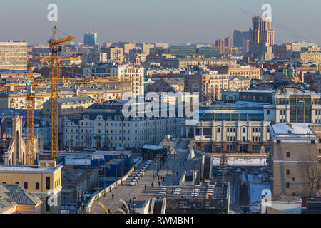 Cityscape, Moscow, Russia - Stock Image