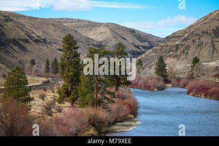Yakima Canyon - Stock Image