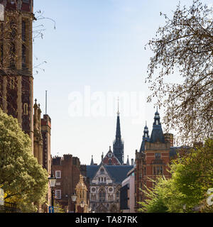 View on Newman's Row, Lincoln's Inn Fields, London, UK - Stock Image