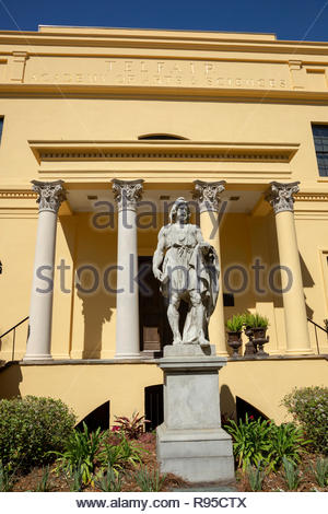 Telfair Academy of Arts & Sciences, Savannah, Georgia - Stock Image