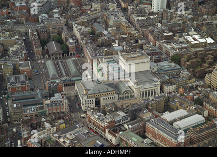 Aerial view of the Royal Opera House in the Covent Garden area of London's West End - Stock Image