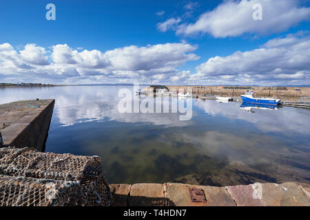 Dusk over the Dornoch Firth. - Stock Image