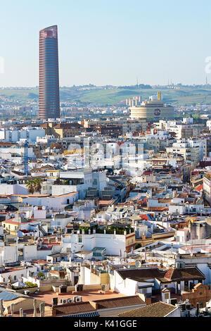 Seville cityscape,Spain - Stock Image