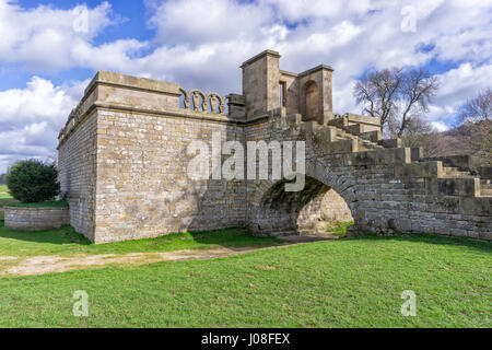Queen Mary's Bower, Chatsworth - Stock Image