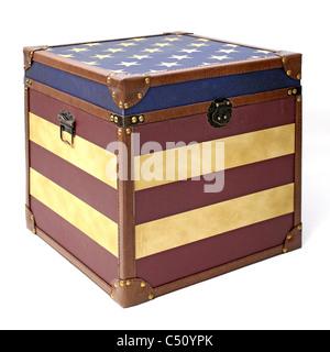 American box - Stock Image