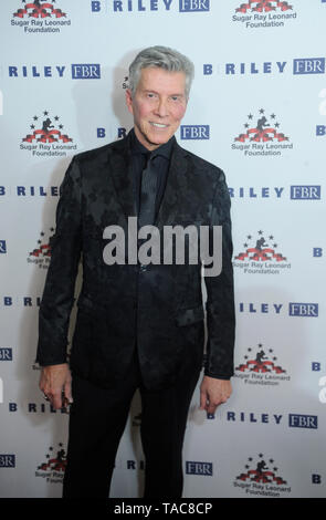 Beverly Hills, USA. 22nd May, 2019. Michael Buffer attends Sugar Ray Leonard Foundation's 10th Annual 'Big Fighters, Big Cause' Charity Boxing Night at The Beverly Hilton Hotel on May 22, 2019 in Beverly Hills, California. Credit: The Photo Access/Alamy Live News - Stock Image